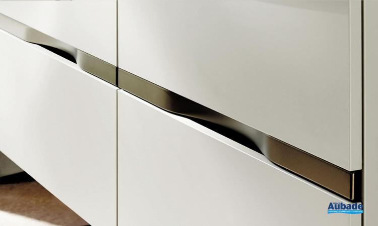 Zoom meuble de salle de bains Orell Gris Basalte mat de Burgbad