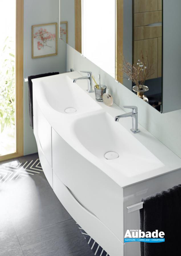 Meuble de salle de bains Sinéa 2.0 de Burgbad - Vasques