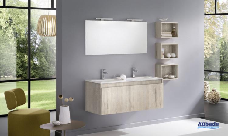 meuble salle de bains delpha d-motion originale largeur 120 chene nordique