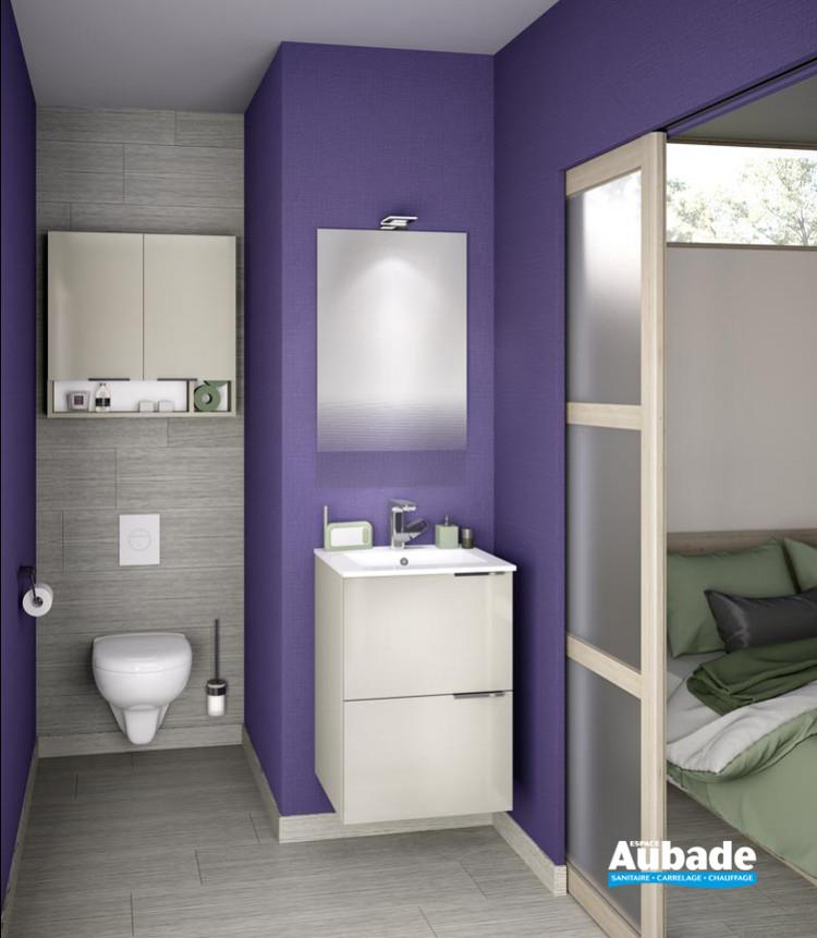 Meuble de salle de bains Delphy Kub 50 Grege de Delpha 1