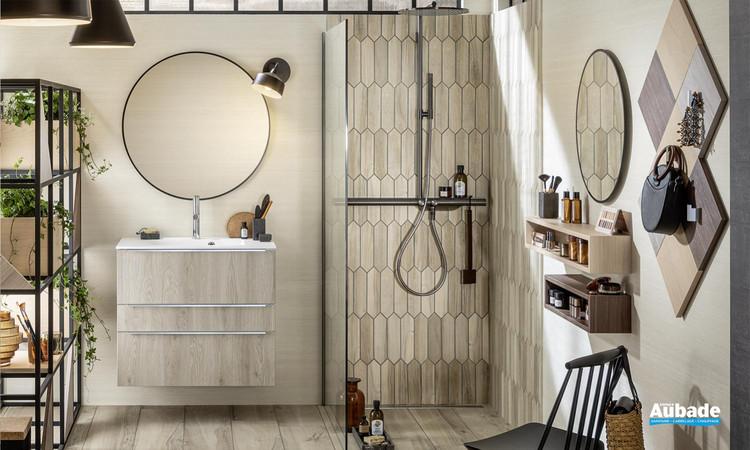 Meuble de salle de bains Unique Naturel de Delpha 1