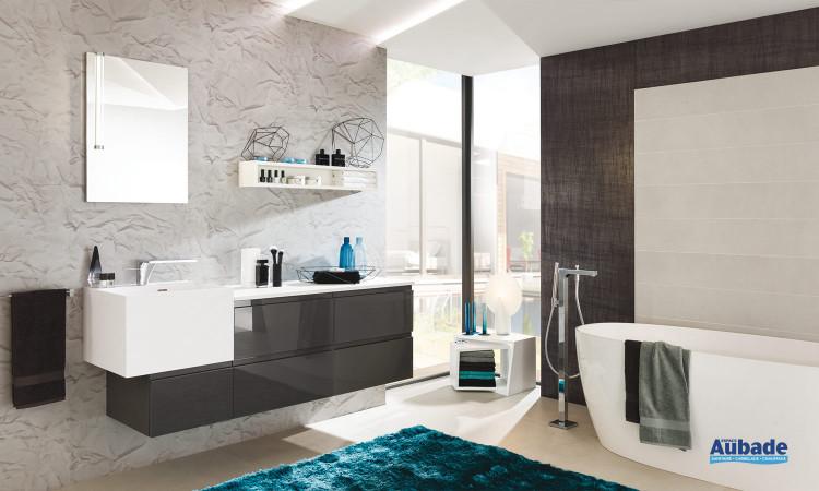 Meuble de salle de bains Roc et Pure Delpha