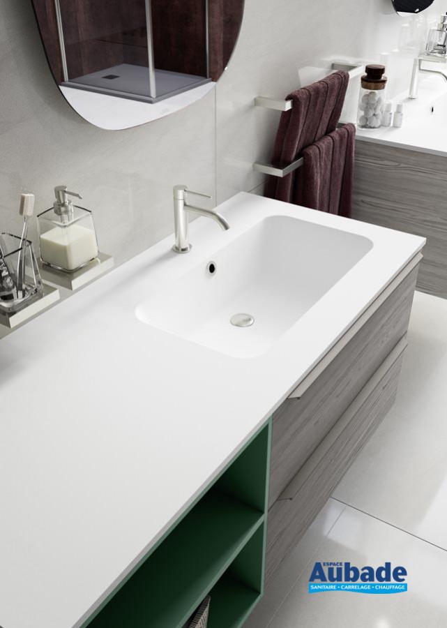 Zoom Meuble salle de bains Progetto Espresso de Inda