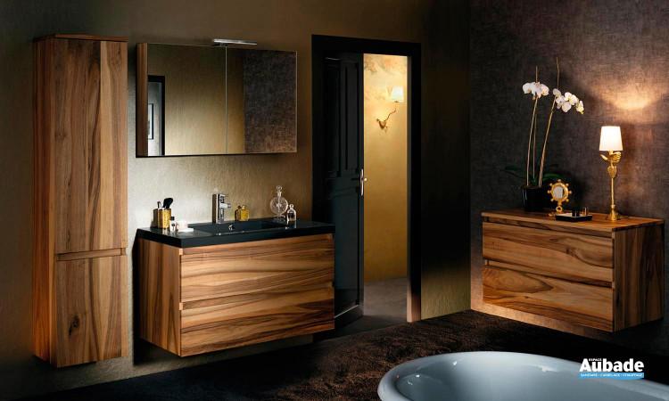 Meubles salle de bains Lignum noyer