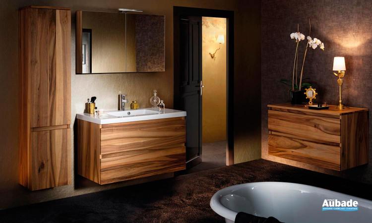 Mobilier salle de bains Lignum noyer massif