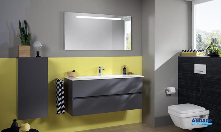 Meuble de salle de bains Architectura Coloris Grey de Villeroy & Boch