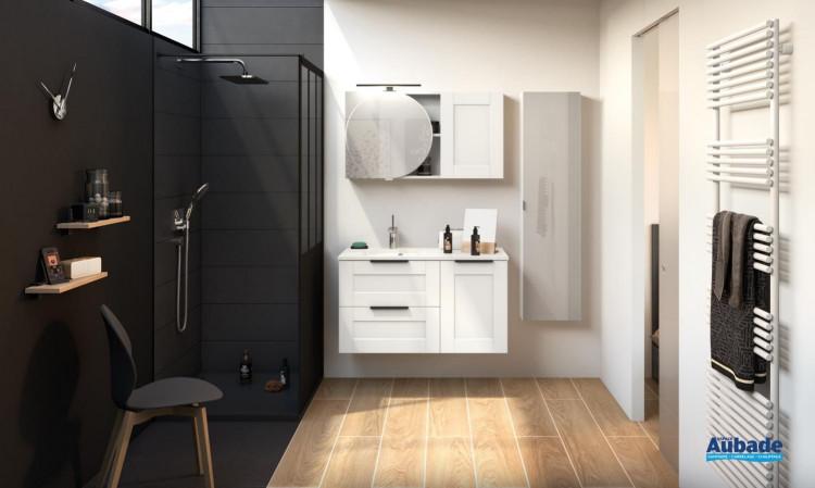 Meuble de salle de bains Kami 100 cm de Delpha