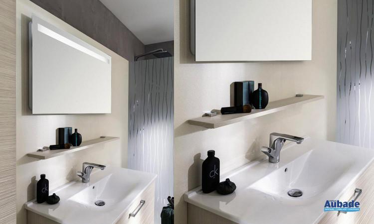 Miroir lumineux intégrée Unique 93 de Delpha