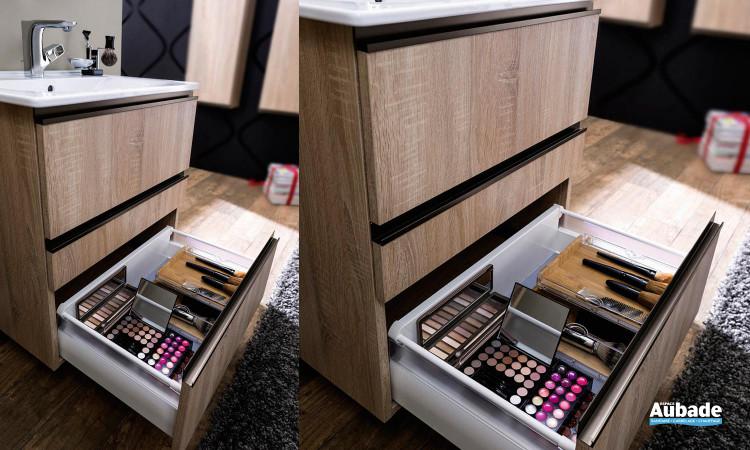 Meuble avec tiroirs Unique 63 Delpha idéal pour votre salle de bain