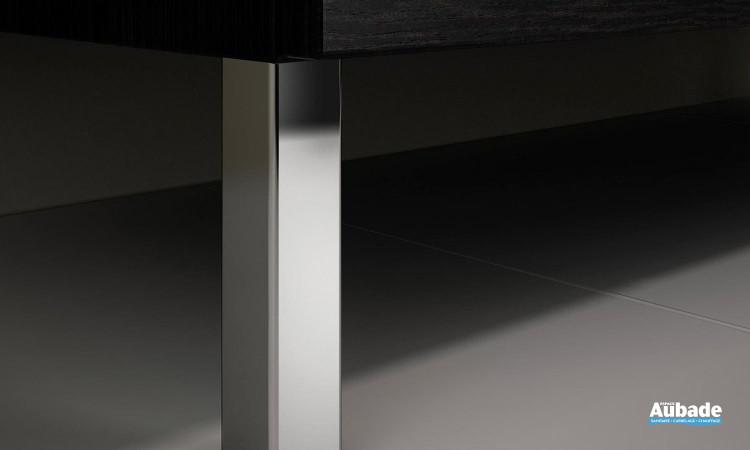 Pieds pour meuble de salle de bains Delpha Proceram 63 cm