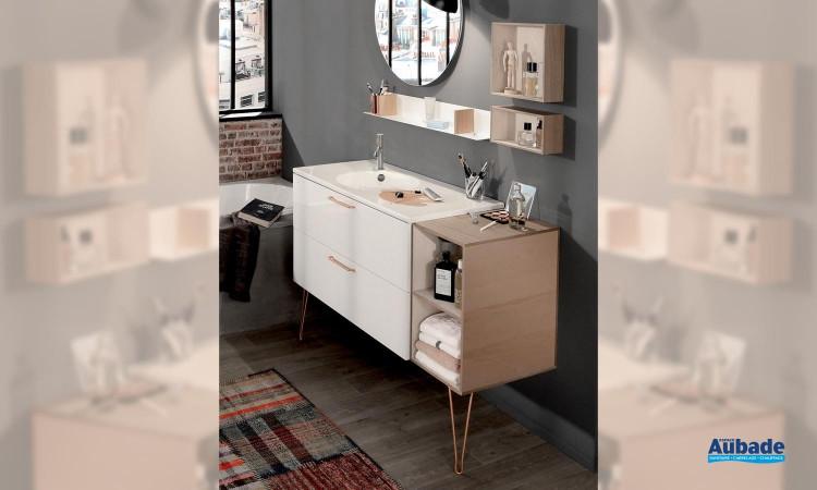 Meubles de salle de bains Odéon Rive Gauche de Jacob Delafon 01