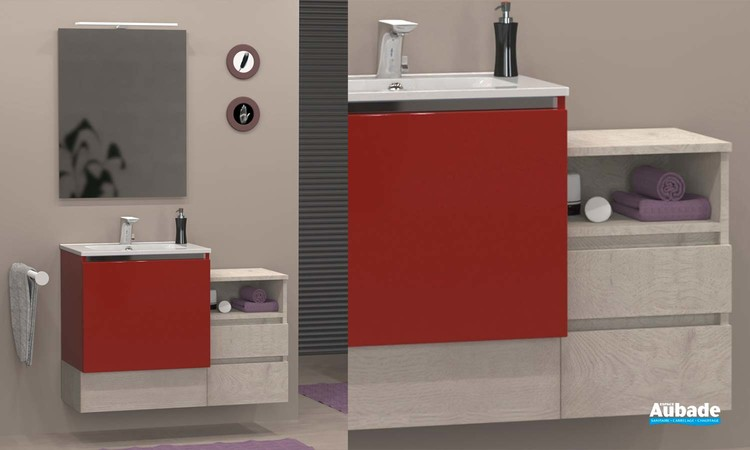 Meubles de salle de bains Modulo de Lido - Cerise Roma