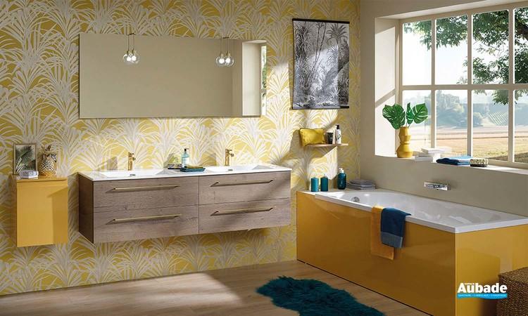 Meuble salle de bains Halo de Sanijura