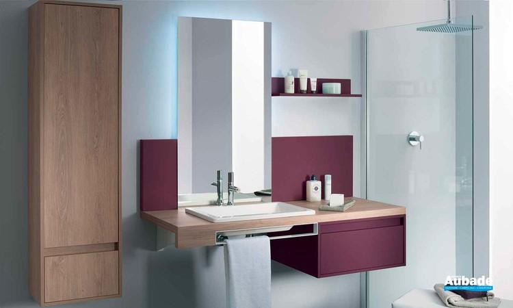 Meubles salle de bains MixCity par Sanijura
