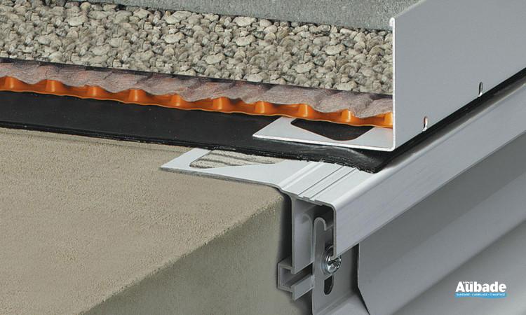 Profilé de rive terrasse Schlüter®-BARA-RWL de Schluter systems