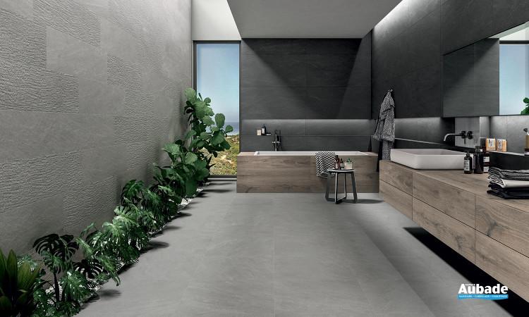 Collection Norgestone par Novabell en coloris Light Grey et décor Cesello Light Grey