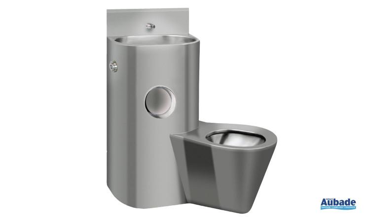 Pack WC avec lavabo lave-main intégré de Franke