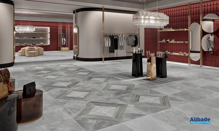 Collection Crossway par Pavigres en coloris Grey & Silver