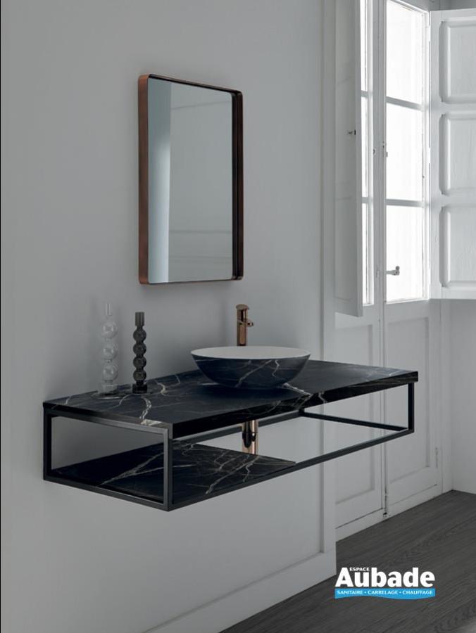 Plan lavabo Mirage Marquina associer au receveur