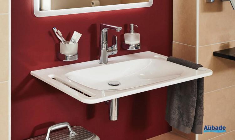 Plan de toilette Derby Style adapté PMR de la marque Vigour