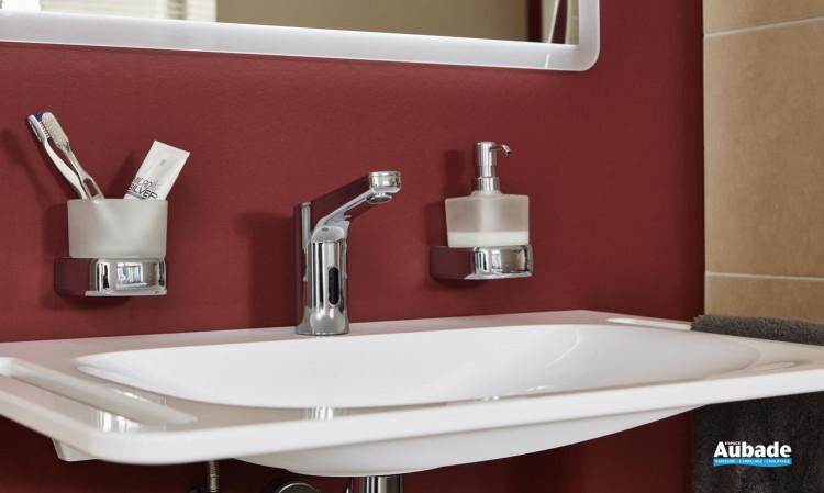 Plan de toilette PMR Derby Style coloris blanc par la marque Vigour