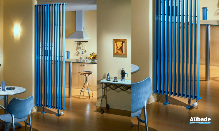 Radiateur Clarian Garde-corps Acova coloris bleu