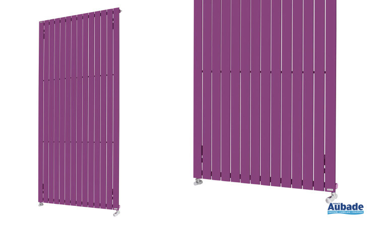 Radiateur Fassane vertical de Acova coloris violet