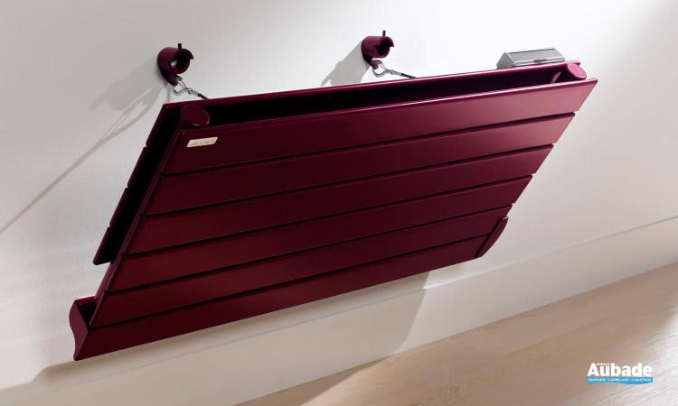 Radiateur Fassane Premium coloris bordeaux
