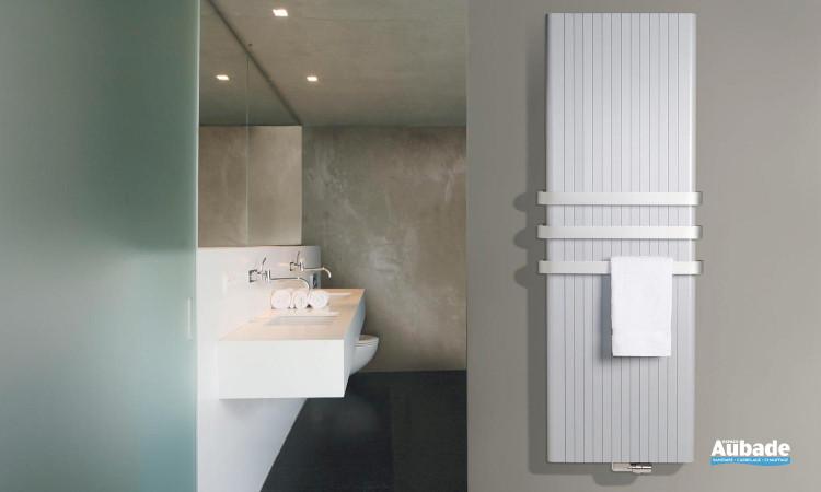 Radiateur chauffage central Alu-Zen de Vasco en aluminium laqué blanc