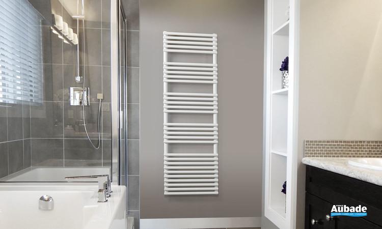 Radiateur sèche-serviettes Ouvea eau chaude coloris blanc de la marque Acova