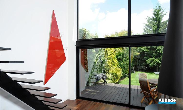 Radiateur électrique design et minimaliste Triangle de Cinier 01