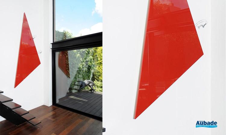 Radiateur électrique design et minimaliste Triangle de Cinier 02