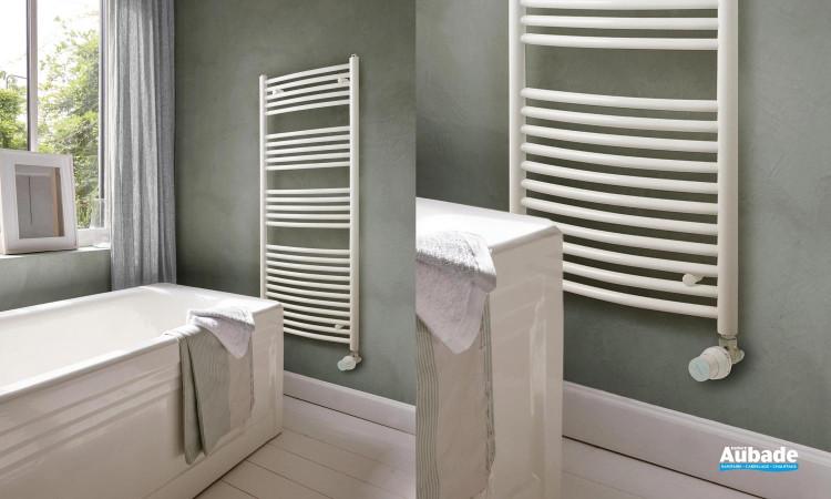 Radiateur sèche-serviettes Tiga de la marque Acova coloris Blanc