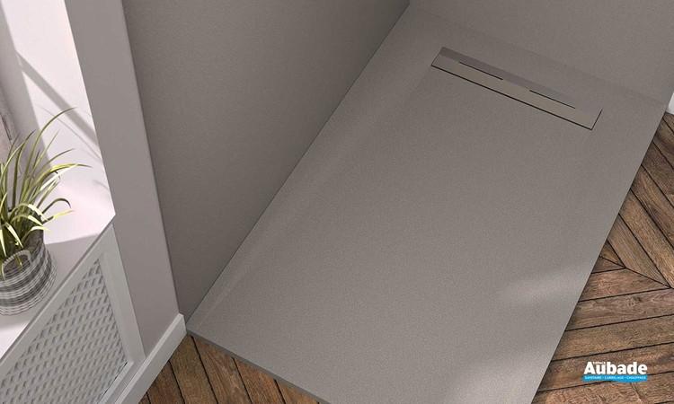 Receveur de douche avec évacuation latérale Oka par Ambiance Bain 8