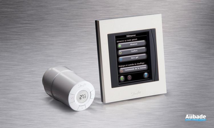 Régulateur d'ambiance simple d'utilisation Danfoss Living Connect