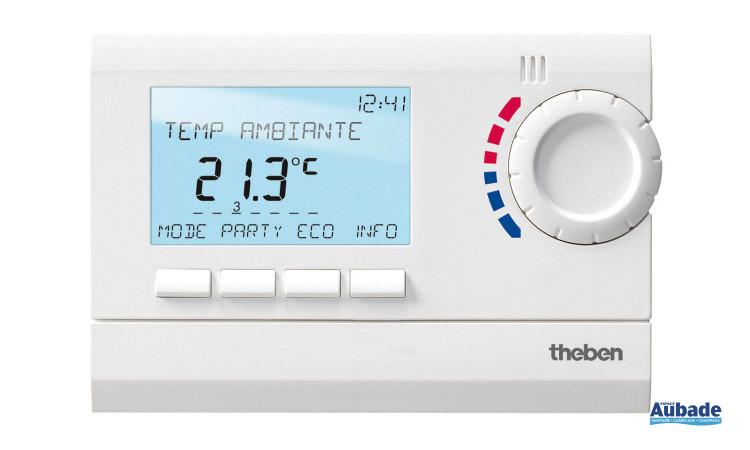 Thermostat d'ambiance Ramses 800 Top 2 de Theben avec écran numérique et design élégant