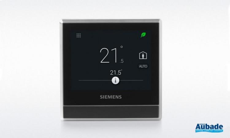 Thermostat d'ambiance Intelligent RDS110 Siemens