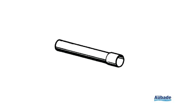 Allonge de 300 mm pour tube de chasse avec embout raccord Grohe