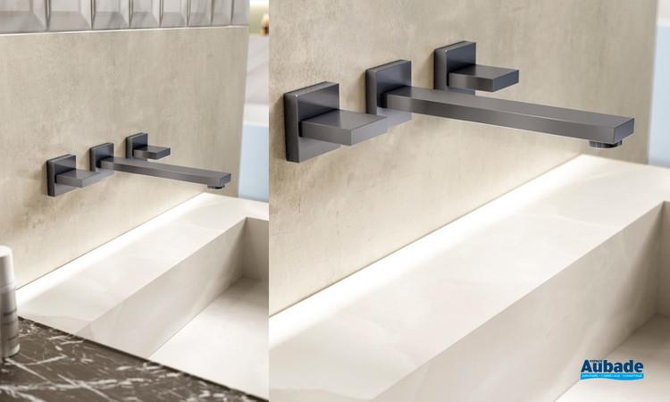 Robinet Mélangeur design pour lavabo à encastrer Philae de Horus 01