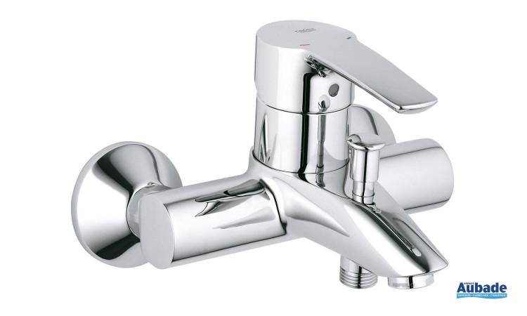 Mitigeur bain Eurostyle de Grohe avec butée économique