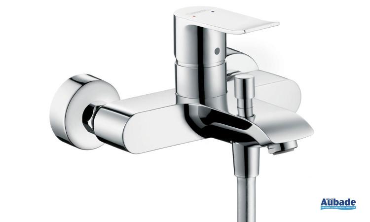 Mitigeur bain et douche Metris Hansgrohe avec design sobre et élégant