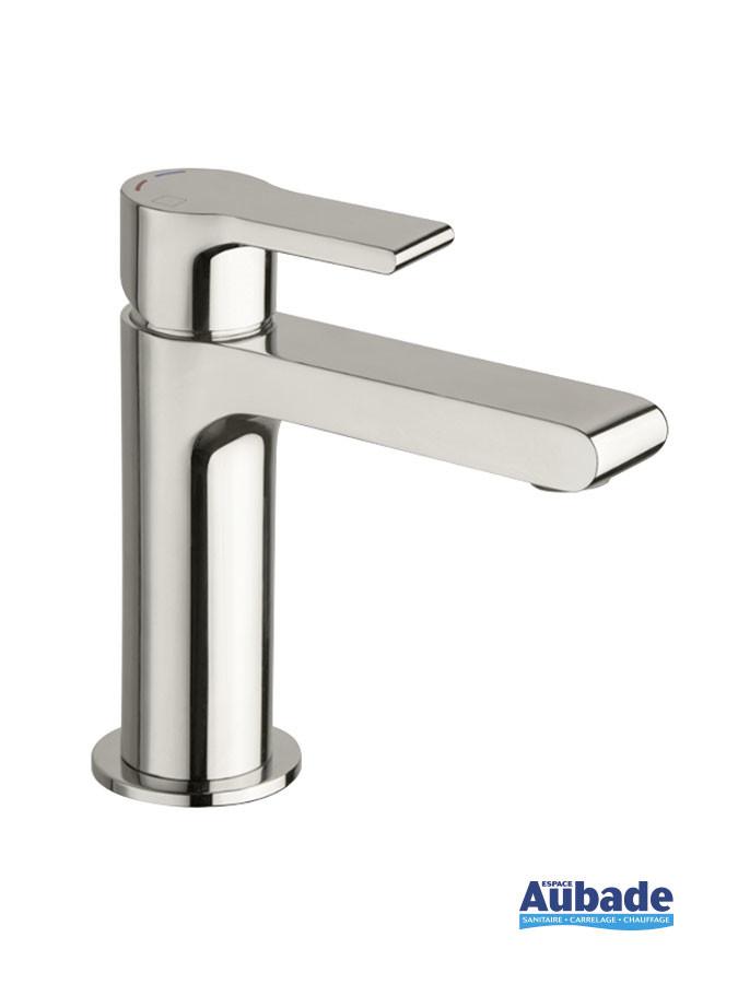 Mitigeur lave-mains et petit lavabo Delta coloris chromé de Cristina