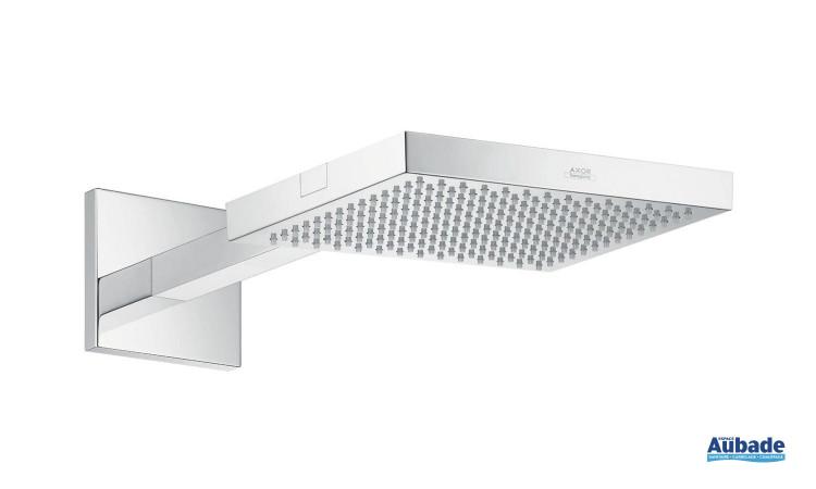 Douche de tête carrée Starck Organic Axor design puissant et énergique