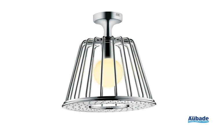 Douche de tête lumineuse plafond Axor Showerlamp