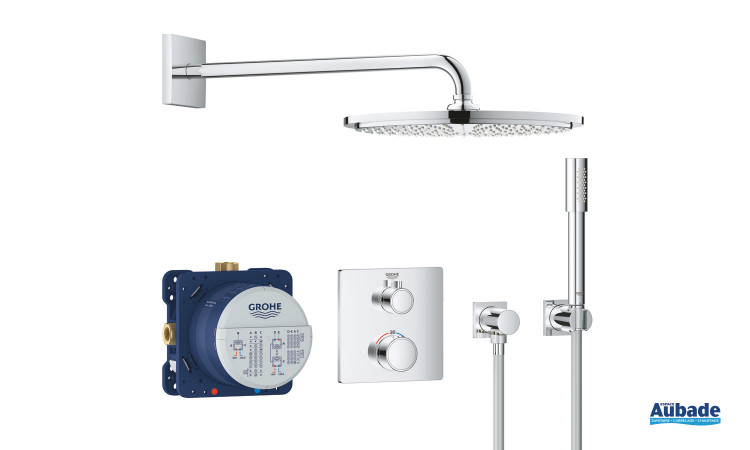 Set de douche encastré Grohtherm Rainshower 310 mm