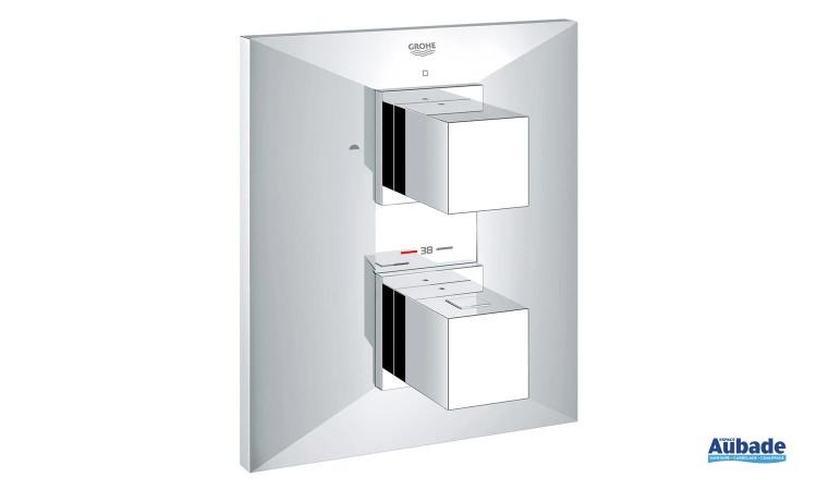 Façade design pour mitigeur thermostatique encastrable Allure brillant de Grohe