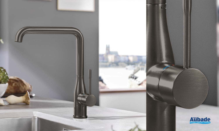 robinetterie evier grohe essence bec orientable