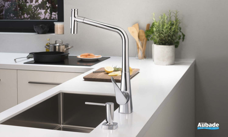 robinetterie evier hansgrohe m7117