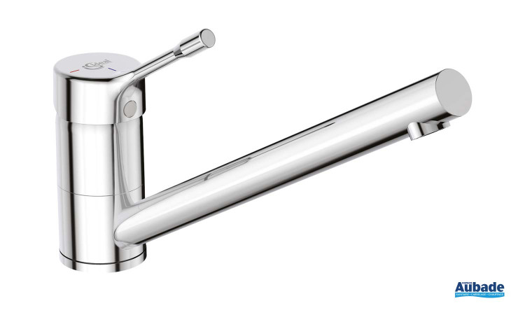 robinetterie evier ideal standard ceralook bec bas