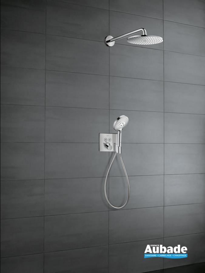 Ensemble de douche encastrée Raindance S PowderRain / ShowerSelect Porter E Hansgrohe